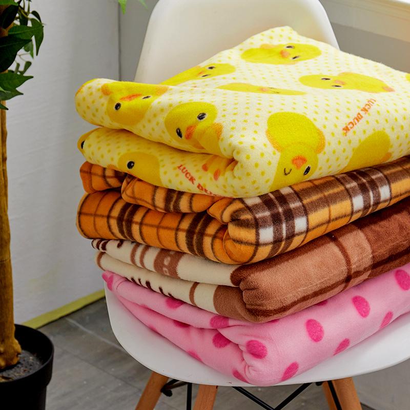 毯子/懶人毯【花樣懶人毯-格紋黃】100%台灣製高品質懶人毯