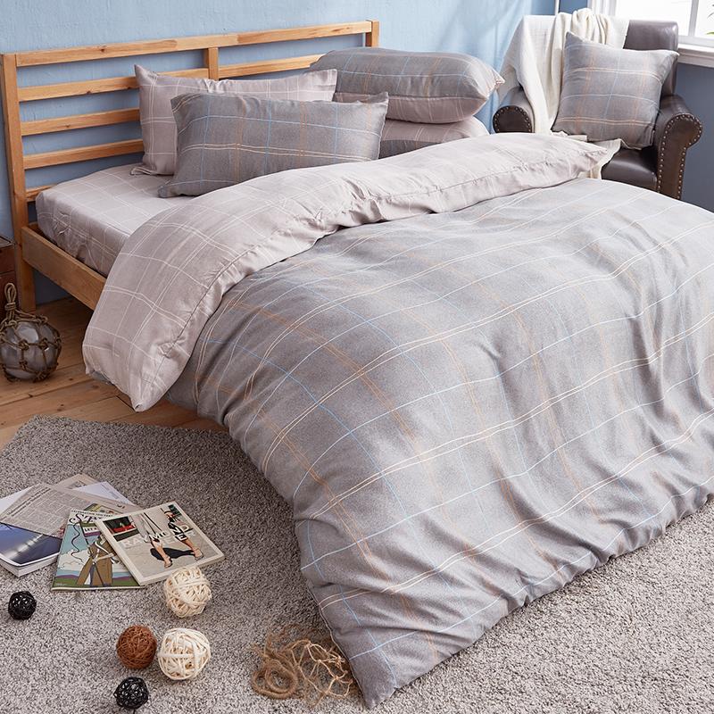 床包被套組/雙人加大【雷諾瓦】40支天絲雙人加大床包被套組