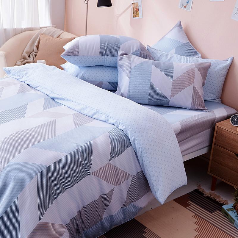 床包被套組/雙人加大【絲柏特】40支天絲雙人加大床包被套組