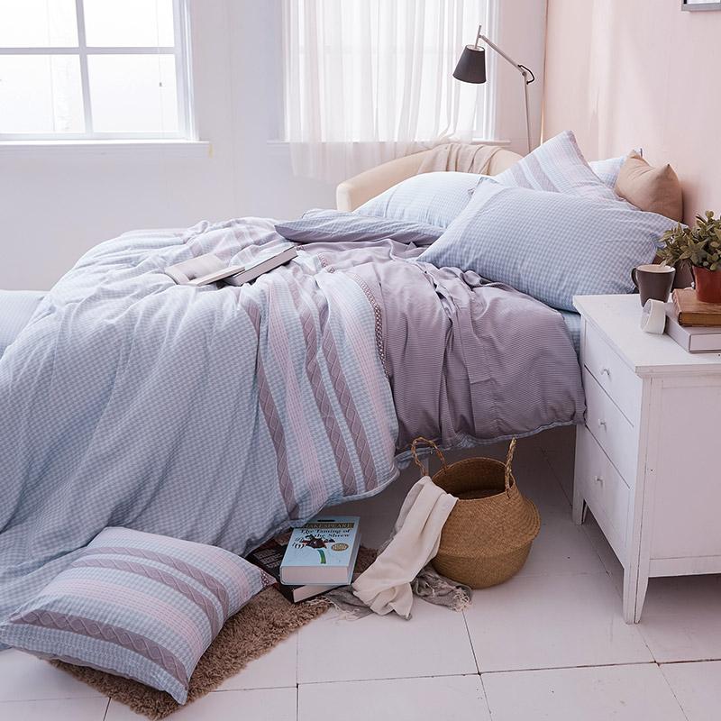 床包兩用被/雙人【阡陌交織】60支天絲雙人床包兩用被套組