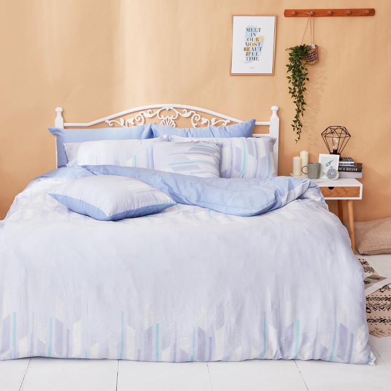 床包兩用被/雙人【曼響】40支天絲雙人床包兩用被套組