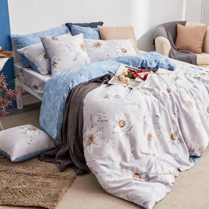 床包兩用被/雙人【絲諾】40支天絲雙人床包兩用被套組