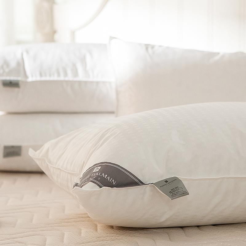 枕頭/羽絨枕(兩入組)【PB頂級羽絨枕】高規格50D/50F輕盈蓬鬆
