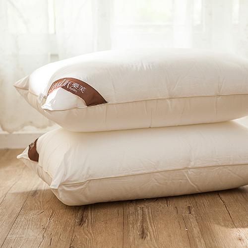 枕頭/防蹣枕(兩入組)【樂芙防蹣可水洗枕】物理性無毒防蹣+微米編織表布