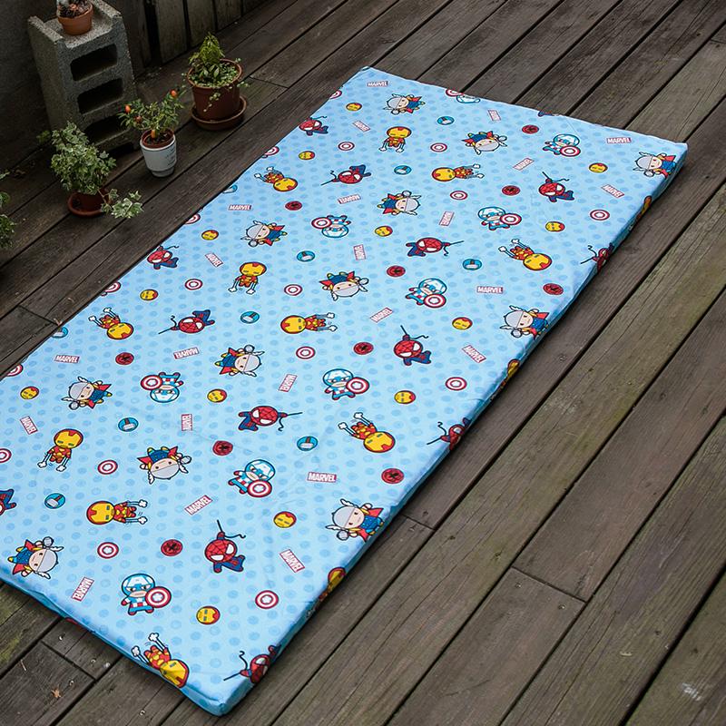 床墊布套/單人【超萌英雄布套】高密度磨毛布卡通抗菌床墊布套